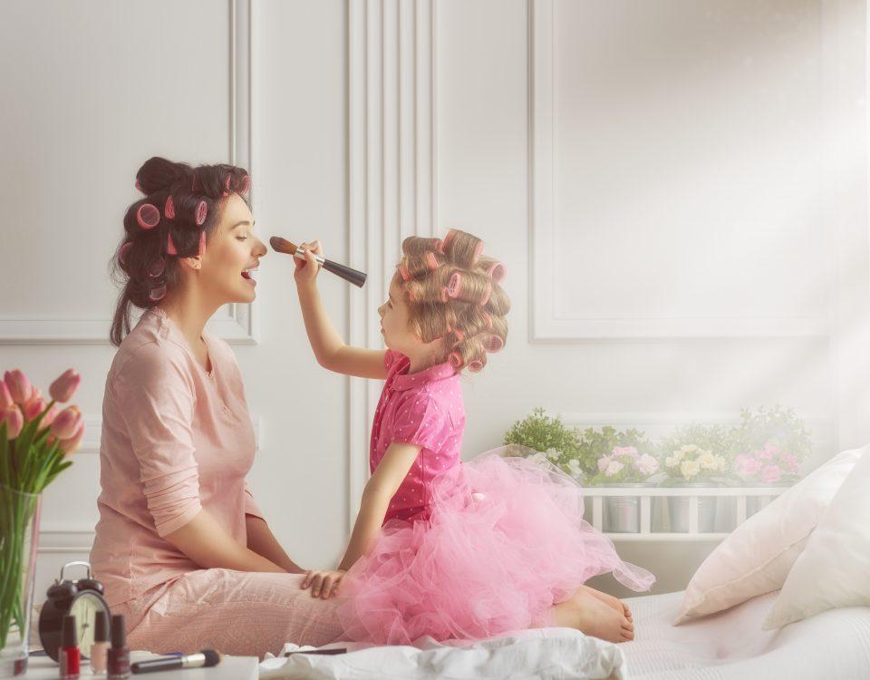 moments magiques entre une mère et une fille